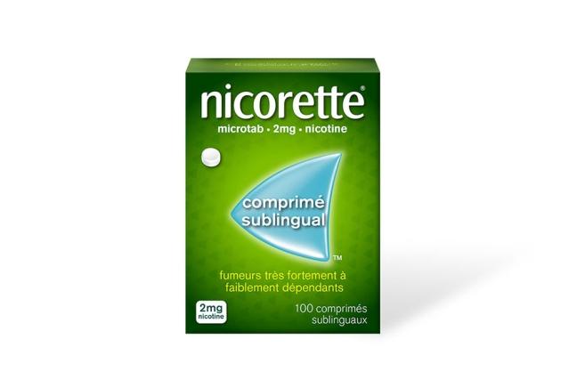 Packshot des comprimés sublinguaux microtab